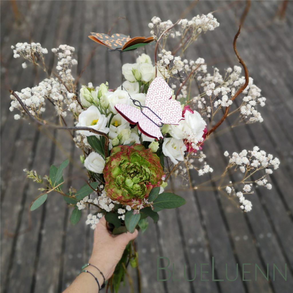 Pique-fleurs en bouquet